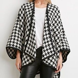 NWT Forever 21 poncho / jacket / top / duster